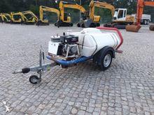 Reboque Tanque C/Bomba Lavagem