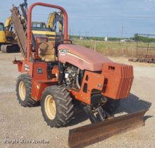 Used Rock Saw Trencher for sale in Texas, USA  Ditch Witch equipment