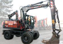 2012 Atlas 150 W Wheeled excava