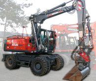 2015 Atlas 150 W Wheeled excava