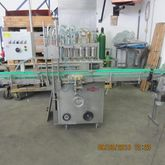 Inline filler with 6 stations,