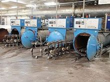 2000 3 autoclaves, overspraying