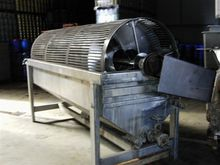 Used Drum blancher f