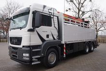 2010 MAN TGS 26.480 6x4 EURO5 P