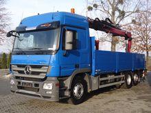 2011 MB ACTROS 2544 6x2 EURO 5