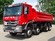 2013 MB ACTROS 4141 8x6 EURO5 T
