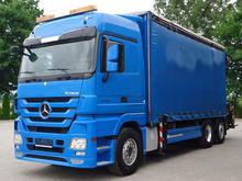2011 MB ACTROS 2544 6x2 EURO5 B