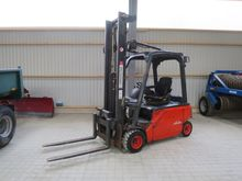 Linde E20 forklift with box tur