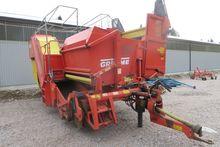 Grimme SE75-40 potato harvester