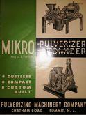 Micropulverizer Micro Mikropulv