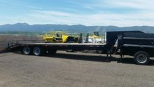 1997 WYOMING  FLATBED TRAILER