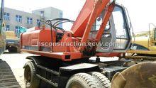 Hitachi Ex160wd Wheel Excavator