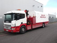 1998 Scania P94 220 Slidebed
