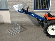 REAR LOADER tractor with BAK an