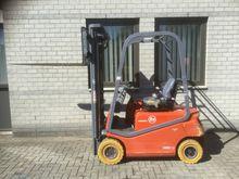 2002 forklift BT CBE15F 1.5 ton