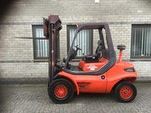 1993 Linde H40D Forklift 4.0 to