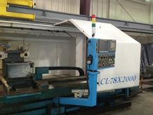 2008 Acra CL78 CNC Flat Bed Tur