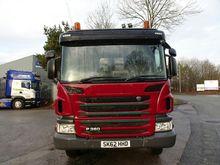 2012 SCANIA P360 8X4 TIPPER