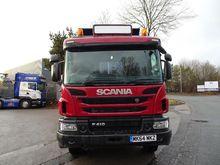 2014 SCANIA P410 8X4 TIPPER