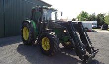 1994 John Deere tractor 6400