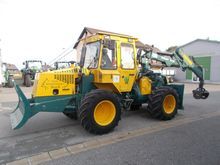 2001 HSM forestry tractor 805