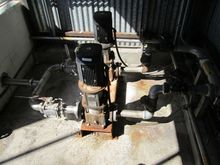 Used pump skid consi