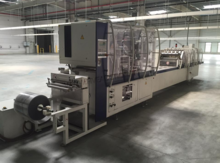 Automatic line blister packagin