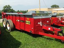 2015 H & S MS370 Manure Spreade