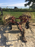 H & S 8 Wheel Hay Rake-Wheel
