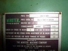 1970 100 Ton Minster Press – Hi