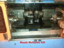Mazak Multiplex 420 Twin Spindl