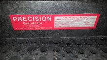 Precision Black Granite Surface