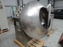 Coating pans, stainless steel