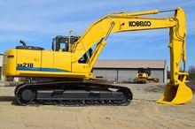 2011 Kobelco SK210LC-8 w/ Plumb