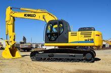 2009 Kobelco SK210LC w/ Plumbin