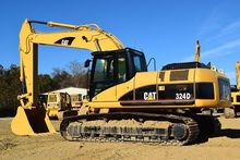 2008 Caterpillar 324DL w/ Patte