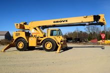 1997 Grove RT58D w/ Hydraulic O
