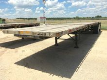 2013 Utility Flatbed Trailer- T