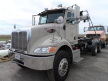 Used Peterbilt 335 Cab Chassis truck for sale | Machinio