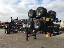 2016 CIMC 40' Container Chassis