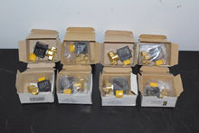Lot of (8) Solenoid Valves