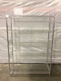 5 Tier Metro Rack with side gua
