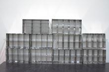 Lot of (10) Freezer Racks