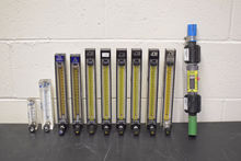 Lot of (10) Rotameters and (1)