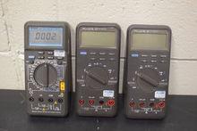 Lot of (3) Multimeters