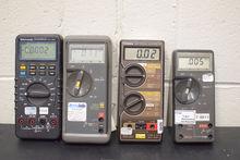 Lot of (4) Multimeters