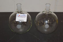 Lot of (2) 2000mL Chemglass Rou