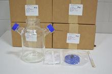 Lot of (6) Bellco Glass 3L MC S