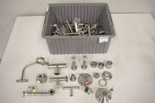 Lot of Stainless Steel Vessel A