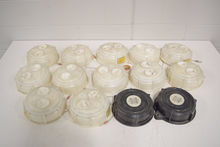Lot of (14) Heavy Duty Plastic